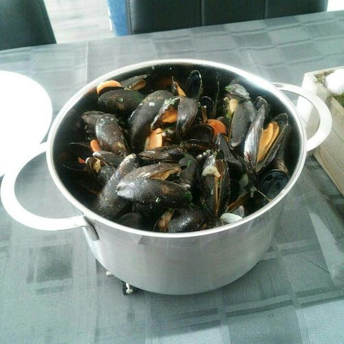 Dinner Lunch Food Lekker Mosselen Mussel Ready-to-eat Seafood