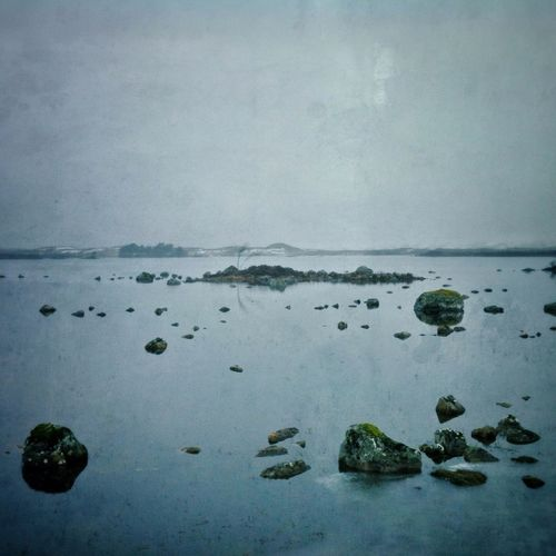 On a cold and misty #Rannoch Moor, in the #highlands of #Scotland