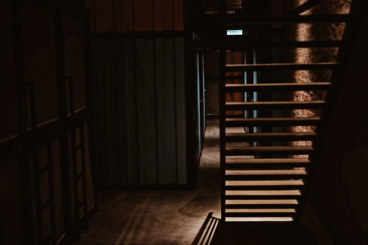 Dim Light Entrance Shadows & Lights Steps Back Lit Backgrounds Building Interior Corridor Indoors  Interior Light And Shadow Light And Shadows Light In The Darkness No People Passageway Shadow Shadows Staircase stairways Steps And Staircases