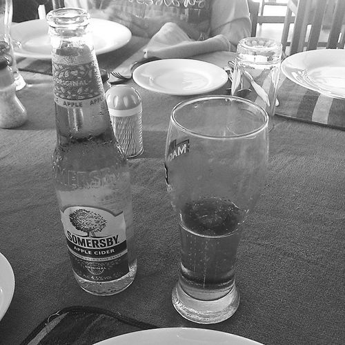 Somersby and Lion beer during lunch.......thank god i had somersby after the beer