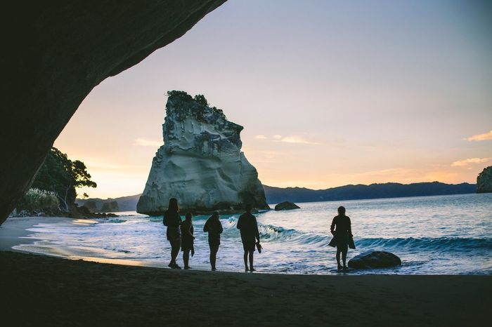 Cathedral Cove, New Zealand. The Environmentalist – 2014 EyeEm Awards , The Explorer - 2014 EyeEm Awards Social Advertising Collection