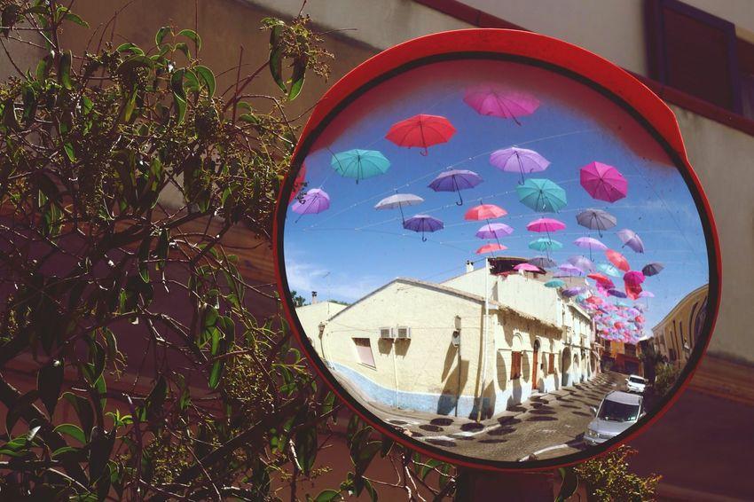 Eye4photography  Mobilephotography Shootermag Mirror Mirror Reflection Umbrella Umbrellas
