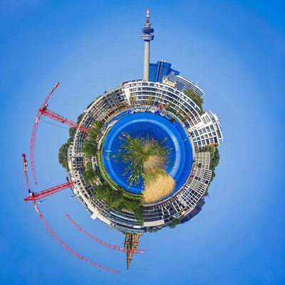 Little Planet Phönixsee Dortmund Holiday Holidays Little Planet Nature Phoenixsee Phönixsee Travel Day Florianturm Geometry Lakescape Landscape Little Planet Panorama No People Outdoor Outdoors Round Circles Seaside Sky Square Shot Travel Destination