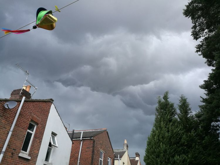 Cloud - Sky Outdoors Thunderstorm Cool Clouds ☁ Thundery Clouds Thunder Clouds Storm Cloud