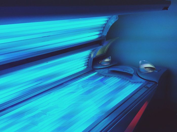Tanning Bed Fakesun Relaxation Tanning Ergoline Devotedcreations ??☀️