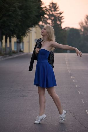 Beauty Taking Photos Model Outdoors Ukraine Hello World Lifestyles Real People One Person Young Women Blond Hair Relaxing Magic Moments Warm Atmosphere Great Atmosphere Wonderful Moment