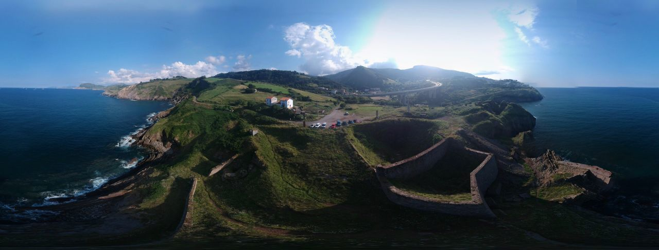 Dji Spark Sphere Panoramic DJI X Eyeem Without Filters Sphere Panorama EyeEm EyeEm Nature Lover EyeEm Gallery EyeEm Selects Djiphotography Dji Spark Sea Water Beauty In Nature Scenics - Nature Sky Nature Mountain The Architect - 2018 EyeEm Awards The Great Outdoors - 2018 EyeEm Awards The Great Outdoors - 2018 EyeEm Awards The Traveler - 2018 EyeEm Awards