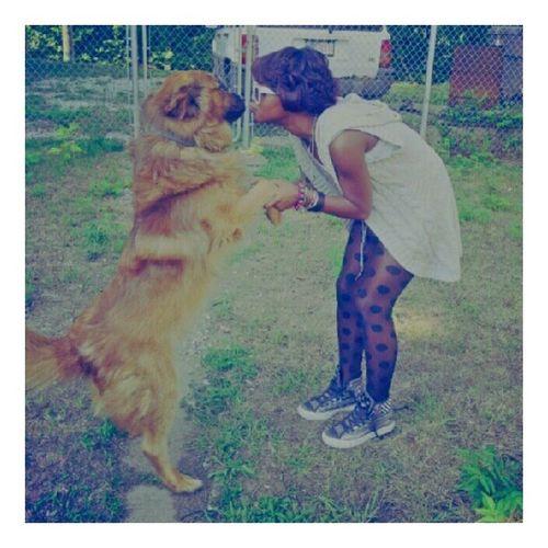 i got a true love with my dog… hbu?