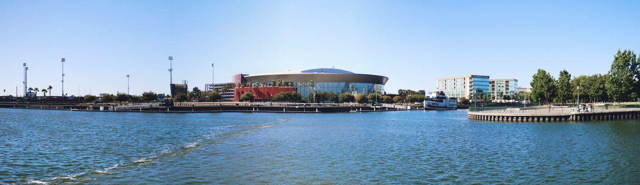 Stockton Arena Waterfront Harbor Port