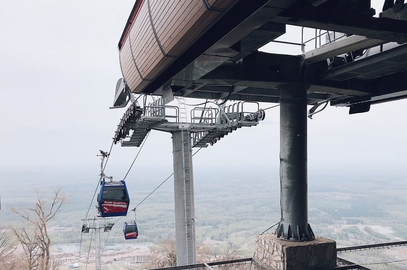 Cable Car IPhone X IPhoneography Changbai Mountain, China Cable Car Sky Nature Architecture Day Built Structure Water No People Outdoors