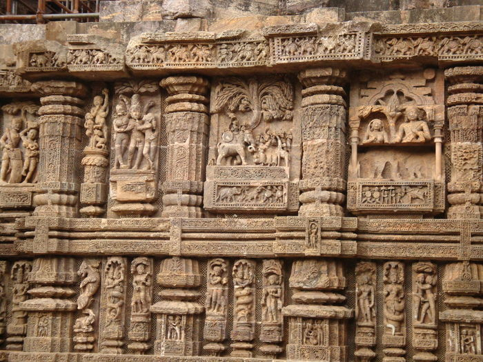 Beautiful Sand stone carvings depicting the lifestyle of past. Ancient Ancient Civilization Ancient History Archaeology Architecture Art And Craft Belief Building Building Exterior Built Structure Carving Carving - Craft Product Craft Creativity History Old Place Of Worship Religion The Past Travel Destinations