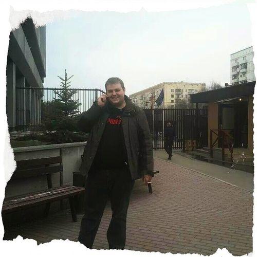 Deutsche Botschaft mitten in Moskau . Ist auch schob wieder 2 Jahre her...