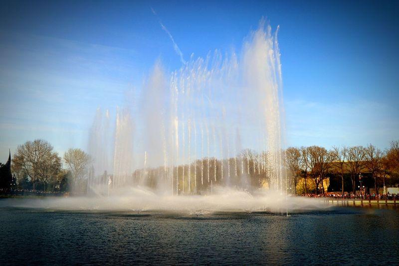 Efteling Aquanura Fontain Watershow