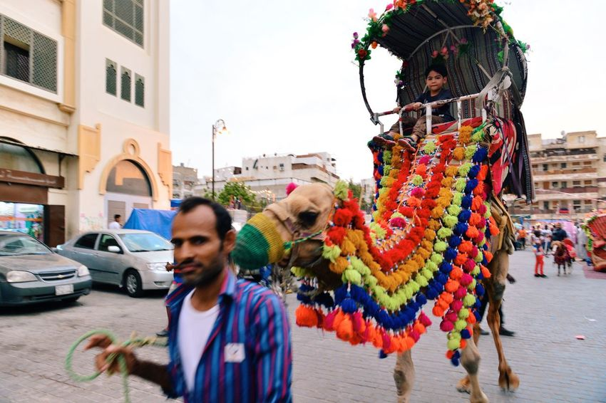 Going For A Ride  Street Market People Watching Hanging Out Getting Inspired Quality Time Camel Four Legs And A Tail