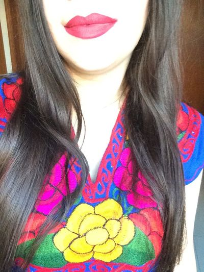 Self Portrait Mexican Girl ColorsOfMexico
