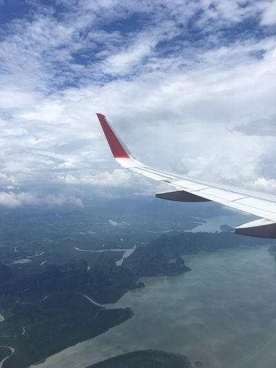 Airplane Airplane View Airplane Wing Flying Aircraft Wing Aerial View Beauty In Nature