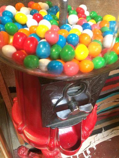 Full frame of multi colored balls