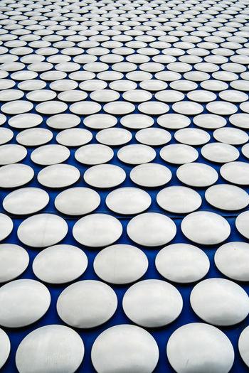 Full frame shot of metallic pattern