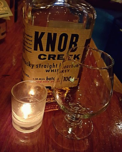 Thirsty!! Hanging Out Drinking Whiskey Knobcreek