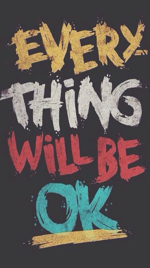 everything will be ok. :-) Hihi I Swear Love Beautiful