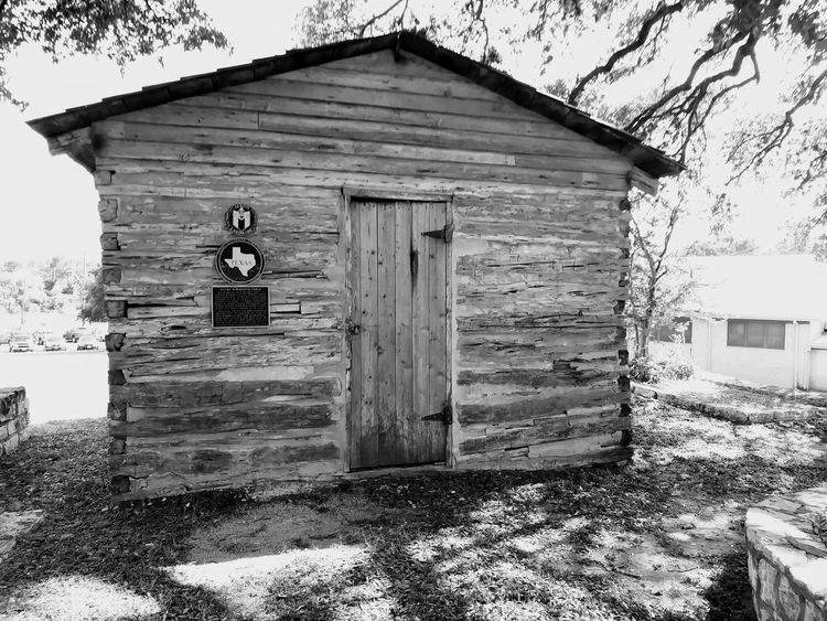 Austin Texas East Austin Rosewood Park Texas History Historical Landmark Historical Building Black & White Monochrome Photography