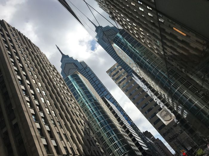 Building Exterior Architecture Built Structure Sky City Cloud - Sky Office Building Exterior Glass - Material Low Angle View Reflection Day Tower Office Outdoors Skyscraper Nature No People Modern Building Tall - High