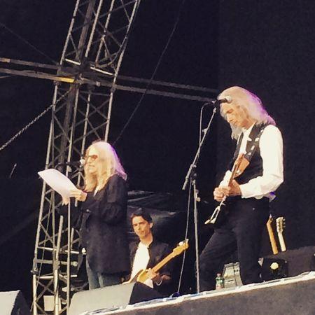 Asummerstale15 Festival Concert Pattismith  Live Horses Gloria Live Music Poetry Charisma