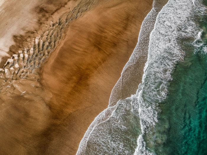 australia colorful beaches ! Landscapephotography Photography Droneshot Ocean Byron Bay Australia Pattern Full Frame No People Close-up Backgrounds Nature Sand Outdoors Water Directly Above Beach First Eyeem Photo