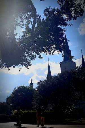 Travel Destinations Outdoors Outdoor Photography Architecture Lost In The Landscape Beauty In Nature Scenics Church Built Structure New Orleans New Orleans Architecture