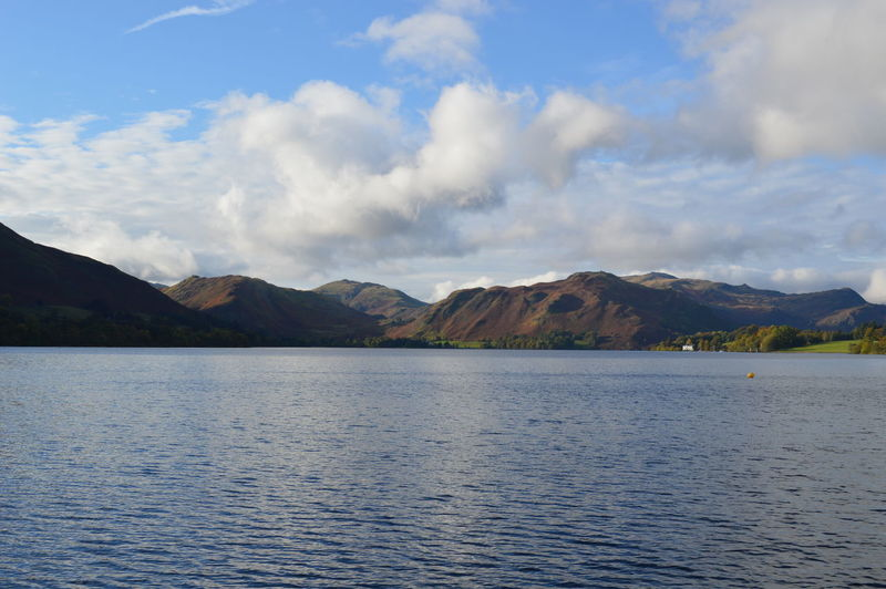 Lake District Beauty In Nature Cloud Cloud - Sky Cloudy Day Idyllic Landscape Mountain Nature No People Non-urban Scene Outdoors Scenics Sky Tranquil Scene Tranquility Water Waterfront Natural Beauty Lake District Mountain Range Ullswater English Countryside Cumbria Lakeshore