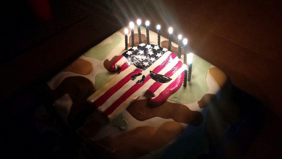 Portrait Of America Birthday Cake Sonturns11 Chrisklyeinspired