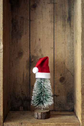 Christmas Decoration In Wooden Box