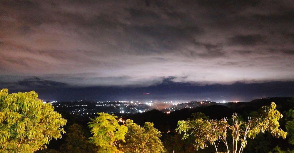 Sleepless City! Night Dramatic Sky Landscape Outdoors Nature Scenics Mountain Mountain View