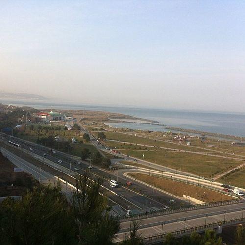 Samsun Teleferik Sehir Karadeniz sahil deniz city