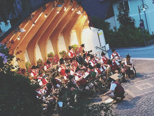 Large Group Of People Real People Men Arts Culture And Entertainment Outdoors Built Structure Architecture Day Music Building Exterior Togetherness Sitting Tree Musician Crowd People EyeEm Best Shots EyeEmNewHere EyeEm Gallery