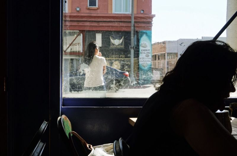 Lady in waiting Window Real People Looking Through Window People Streetphotography Huffington Post Stories EyeEmBestPics