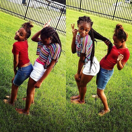 meee & my babymomma yesterday ' coolin wit our fine ah