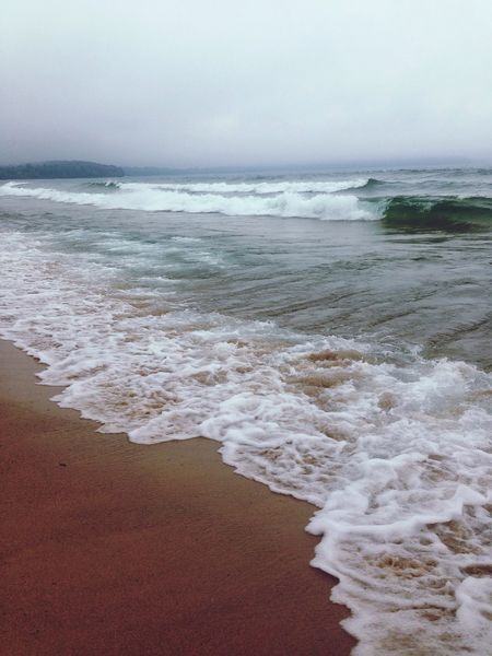 Storms a' brewing on Lake Superior today. Beach Travel Storm Beautiful Surroundings