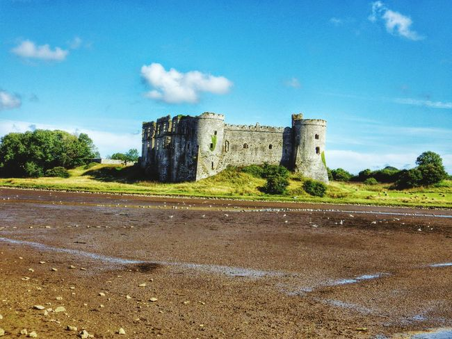 Wales Photography Taking Photos Check This Out Castle Architecture Historical Building Oldbuilding Bkue Sky Mud