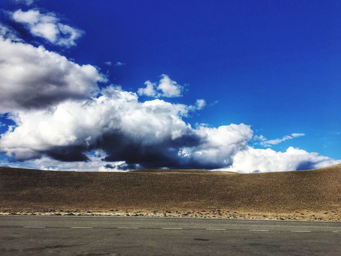 Ruta 40 - Popckorn Calafate Cloud - Sky Landscape No People Outdoors My Year My View Argentina Road Rute  Roadtrip