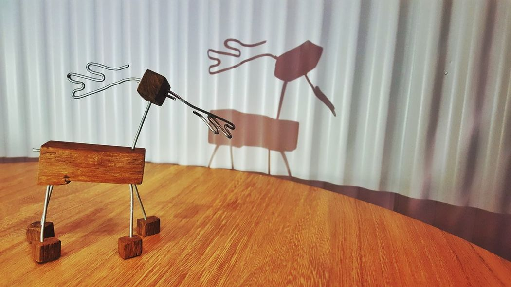 Wooden Toys Table Decoration Shadow Shadows & Lights Toy Microphone Day
