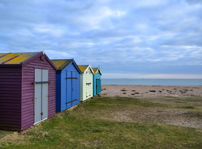Seaside Perspective Eyemphotography Beach Photography Beach Beachhut Hayling Island  Portsmouth Colours