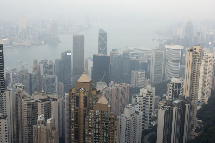 Asian Cities Colour Your Horizn Hk Hong Kong Hong Kong City Modern Architecture Skyscrapers Architecture Birds Eye View Building Exterior China City Cityscape Day Densely Built Downtown Downtown District Highrise Hong Kong Island Modern No People Outdoors Skyscraper Travel Destinations Urban Skyline