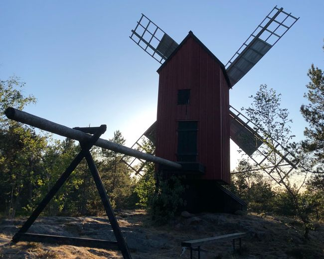 The Windmill Backlight Back Lit Motljus Evening Light Evening Väderkvarn Aland Islands åland  Mill Windmill Built Structure Sky Nature Traditional Windmill Alternative Energy Renewable Energy Environmental Conservation Turbine No People Wind Power Wind Turbine Environment Sunlight