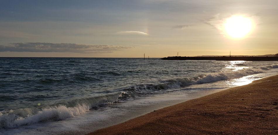 Low Tide Sun Awe