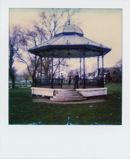Dorset Christchurch Film Photography Polaroid Band Stand Impossible Project
