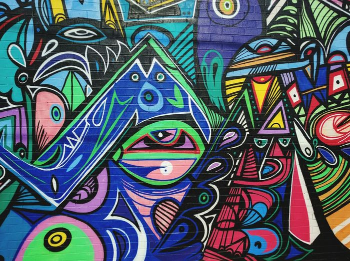 Multi Colored Backgrounds Graffiti Architecture And Art Colorful Patterned Vibrant Color Toronto