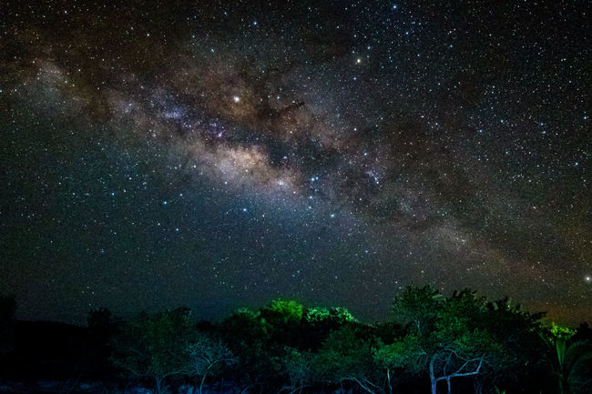 Milky Way over Guanaja, Honduras Guanaja Honduras Astrophotography Constellation Galaxy Milky Way Nature Outdoors