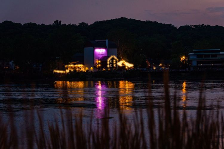 Bucks County Playhouse Night Lights Night Photography Nightphotography Long Exposure Night Showcase: July Showcase July The Week On Eyem EyeEm Best Shots New Jersey Lambertville River