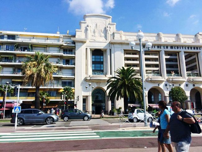 France Architecture Building Exterior Built Structure Car Tree Travel Destinations City Vacations Outdoors People Politics And Government Palm Tree Adult Day Sky Amen